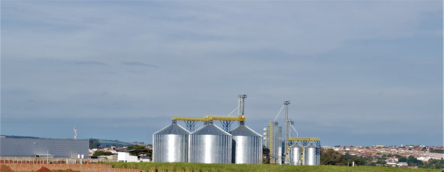 Sky, Manufactures, Industry, Vat, Power Plant