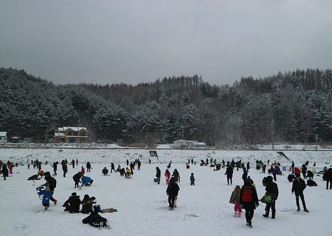 Trout Festival, Pyeongchang, Winter Call Now, Ice