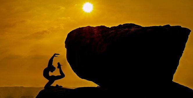 Yoga, Meditation, Spirit, Soul, Relaxing, Silhouette