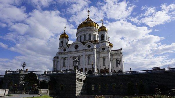 Church, Russia, Religion, Temple, Architecture