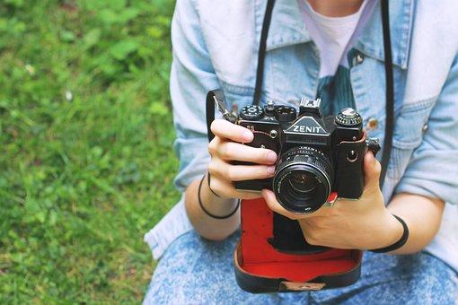 Camera, Zenith, Old Camera, Retro Camera