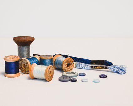 Thread, Vintage, Retro, Craft, Textile, Old, Sewing