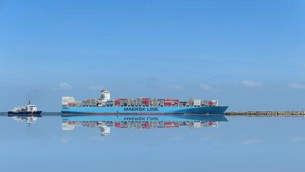 Freighter, Shipping, Container Ship, Cargo, Ship
