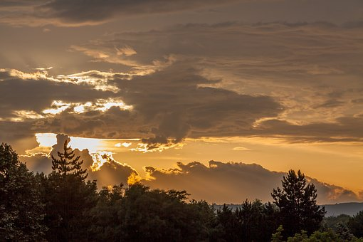 Sunset, Sun, Bulgaria, Light, Sky, Clouds, Beautiful