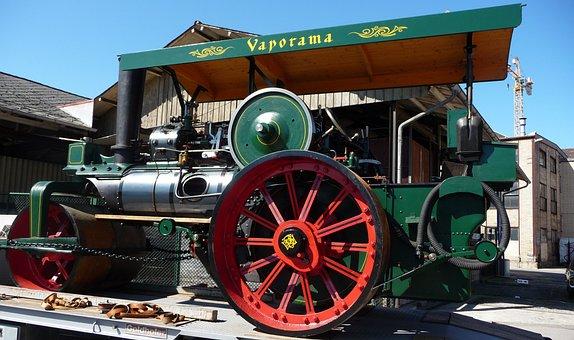 Steam Roller, Steam Centre, Vaporama, Historically