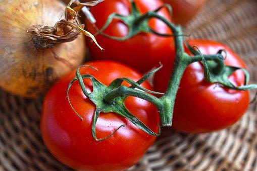 Onion, Tomato, Vegetable, Food, Nutrition, Whole Food