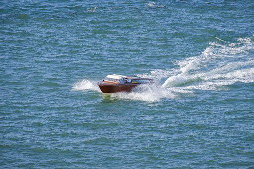 Boat, Powerboat, Taxi, Water Taxi, Ship, Holiday, Water