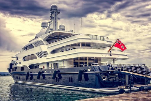 Yacht, Ship, Boat, Luxury, Port, Luxurious, Anchorage