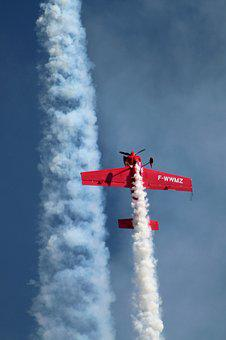 Airshow, Aircraft, Air Show, Air Demonstration, Flight