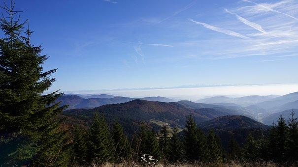 Mountains, Alpine, Black Forest, Landscape, Imposing