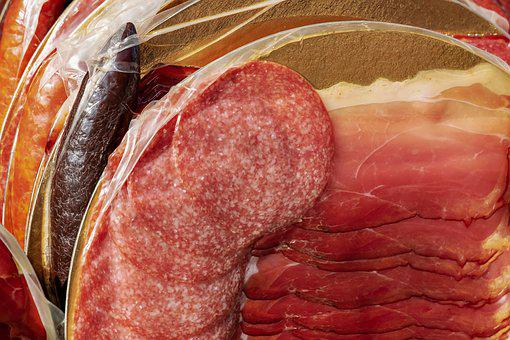 Ham, Black Forest Ham, Salami, Black Sausage