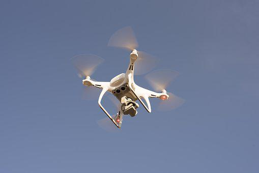 Drone, Fly, Technology, Flight, Air, Blue, Sky