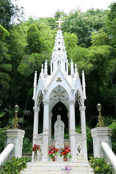 Bamboo, Building, Sheshan, The Catholic Church
