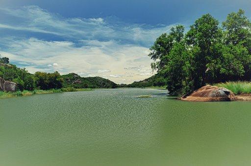 Maleme Dam, Bulawayo, Matopos, Zimbabwe