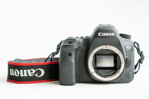Canon, Camera, 6d Mark Ii, Lens, Digital Camera