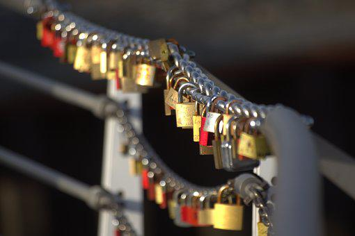 Castle, Bridge, Love Locks, Padlock, Padlocks, Castles