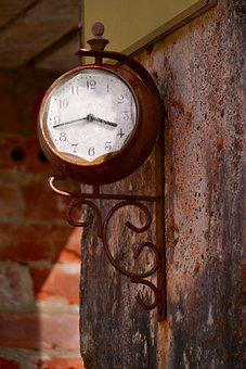 Time, Past, Transience, Clock, Time Of, Transient