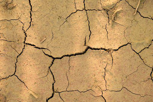 Earth, Dry, Clay, Drought, Close, Structure, Texture