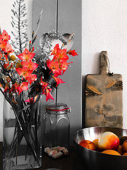 Floral, Food, Design, Natural, Summer, Bloemen, Fruit