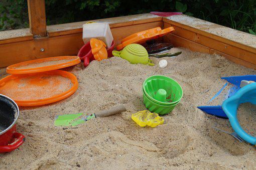 Sand Pit, Sand, Sand Toys, Ramekins, Garden, Toys