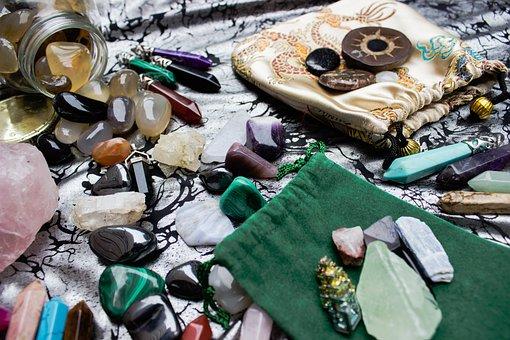 Gemstones, Pouches, Gems, Precious, Gem, Pouch