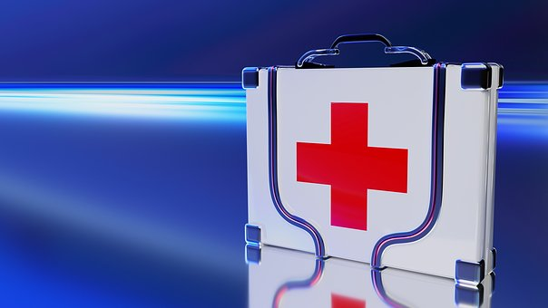 Doctor On Call, Help, First Aid, Container