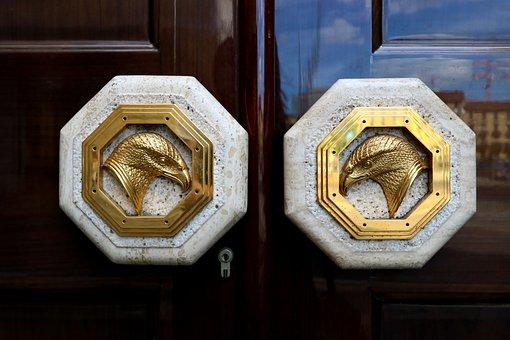 Door, Design, Modern, Entrance, House, Home, Lock
