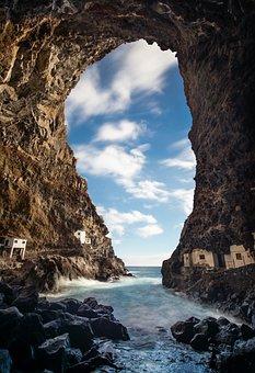 Cave, Booked, Coast, Idyllic, Pirates, Holiday