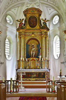 Church, Chapel, Mr Locking, Ilmtal, Baroque