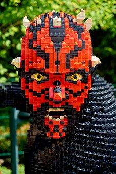 Darthmaul, Legoland, Starwars, Kriegder Star