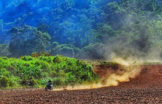 Motocross, Mountains, Belize, Dirt Bike, Motor Sport