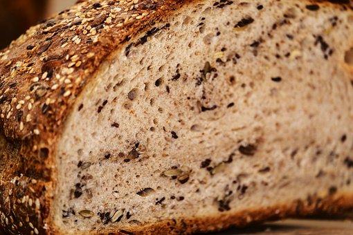 Bread, Wood Oven Bread, Multigrain Bread, Bread Crust