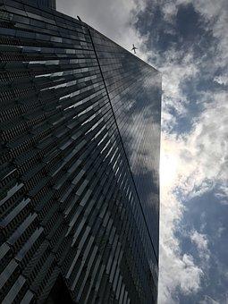 World Trade Center, Trade Centre, New York, Airplane