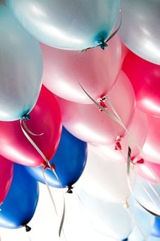 Balloons, Party, Celebration, Birthday, Party Balloons