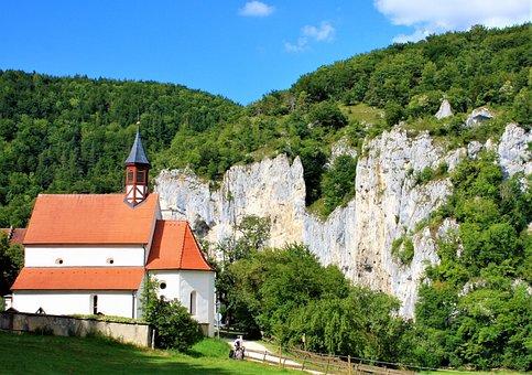 Church, Believe, Danube Valley, Jurassic Rocks, Rock