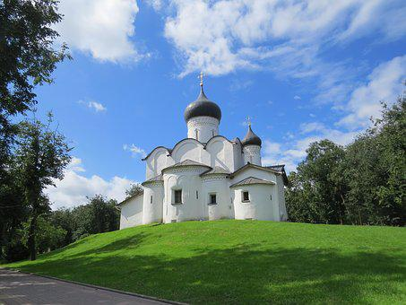 Old, Church, Pskov, Russia, Architecture, History
