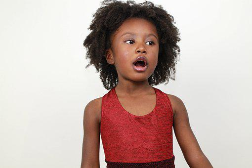 Adorable, Kid, Singing, Gospel, Church