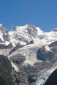 Alps, Mountain, Snow, Landscape, Mont Blanc