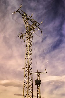 Tower Of Electricity, Power Supply, Electrical Tower