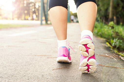 Feet, Walk, Female Feet, Young, People Walking, Ground