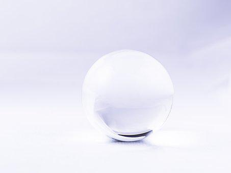 Glass, White, Ball, Light, Bright, Clean, Space, Window