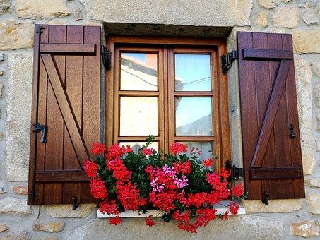 Window, Flowers, Facade, Garay