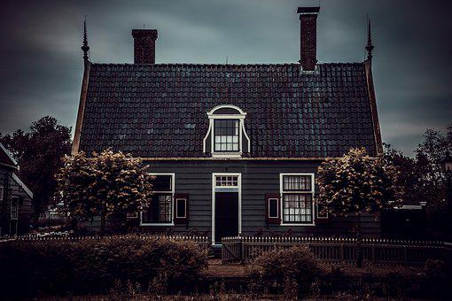 Home, Old House, Haunted House, Window, Old Houses