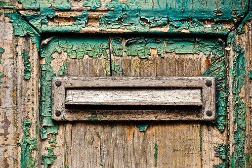 Door, Flake, Old, Weathered, Wood, Input, Boards