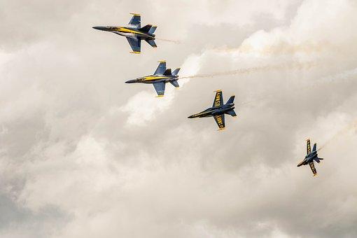 Hornet, F18 Bluegngels, Airshow