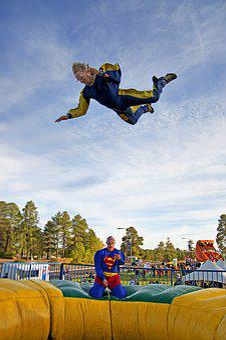 Superman, Ride, Amusement Park, Wind Tunnel