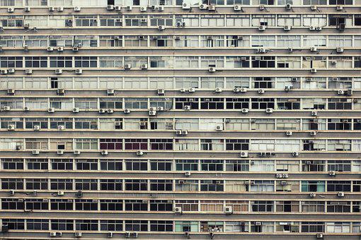 Windows, The National Assembly, Apartment, Facade