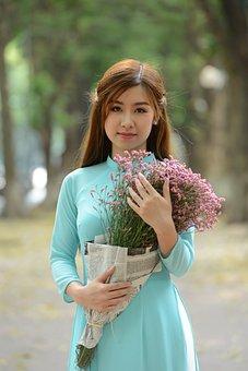 Girl, Portrait, Asia, Beautiful Girl, Beautiful