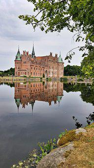 Egeskov, Places Of Interest, Svendborg, Palace, Castle