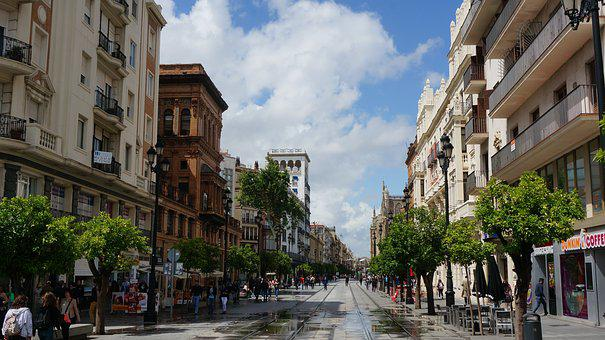 Spain, Street, City, Barcelona, Travel, Village